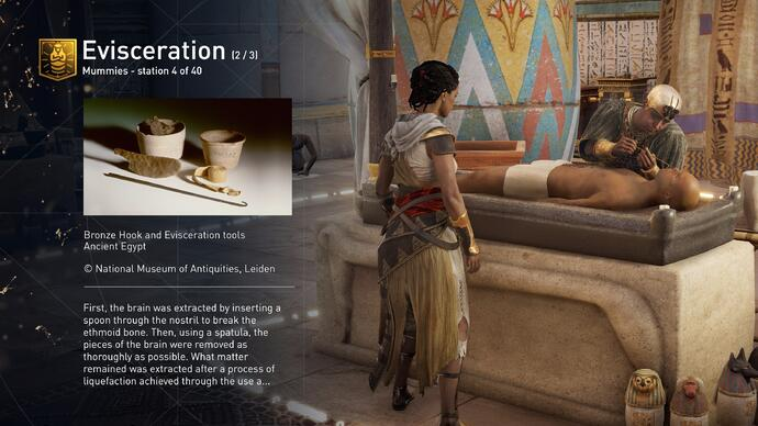 Free update turns Assassin's Creed Origins into an interactive museum