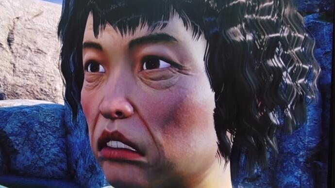 Shenmue 3's latest development update shows off a grandma's face