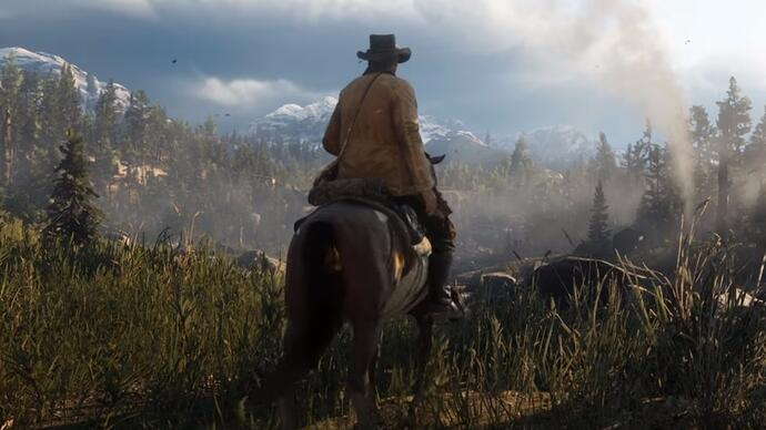 Here's the first Red Dead Redemption 2 story trailer