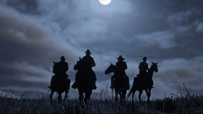 Trailer de Red Dead Redemption 2 capturado na PS4