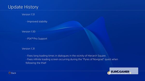 The Witcher 3 PS4 Pro Patch is Out Now, Adds 4K Support