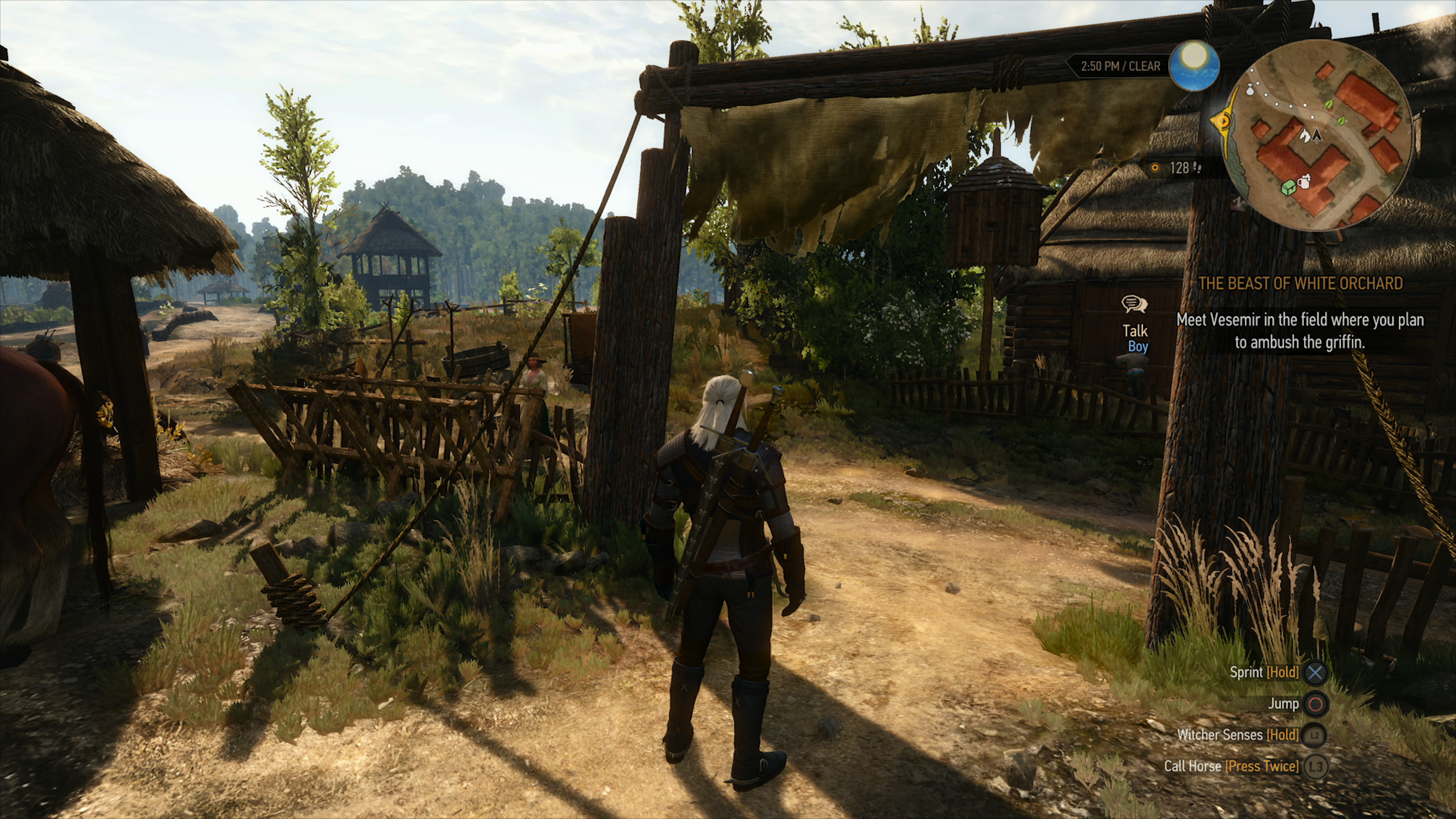 Here's what The Witcher 3 looks like at 4K on PS4 Pro