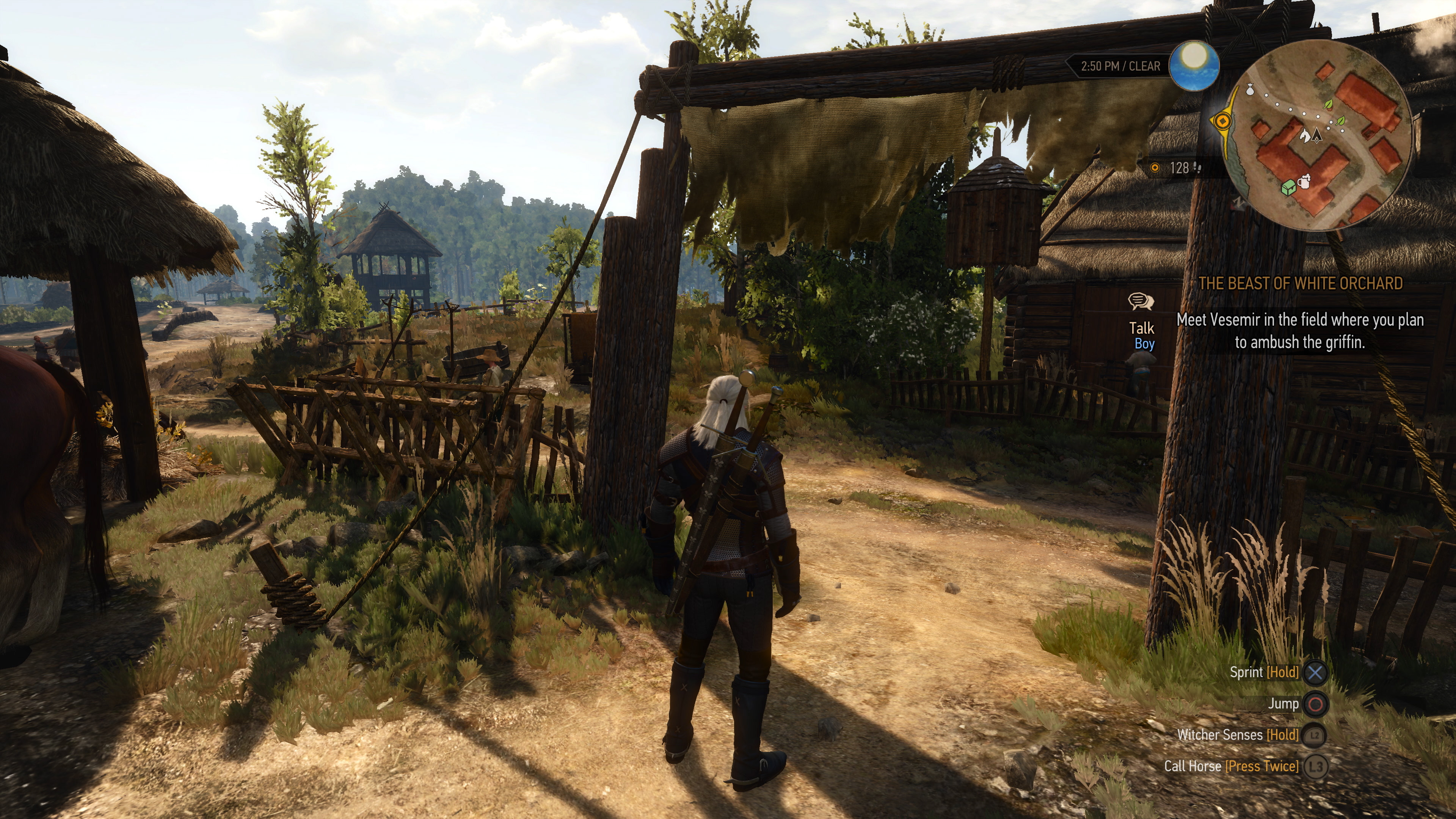 here 39 s what the witcher 3 looks like at 4k on ps4 pro. Black Bedroom Furniture Sets. Home Design Ideas