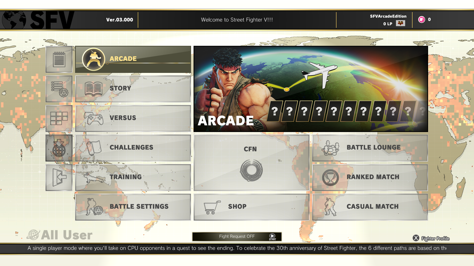 Arcade Edition est officiel — Street Fighter V
