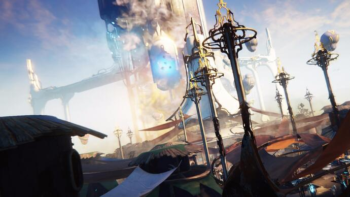 Warframe's big open-world expansion is out next week on PC