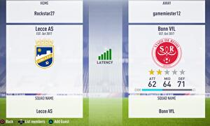 ultimate team matchmaking settings