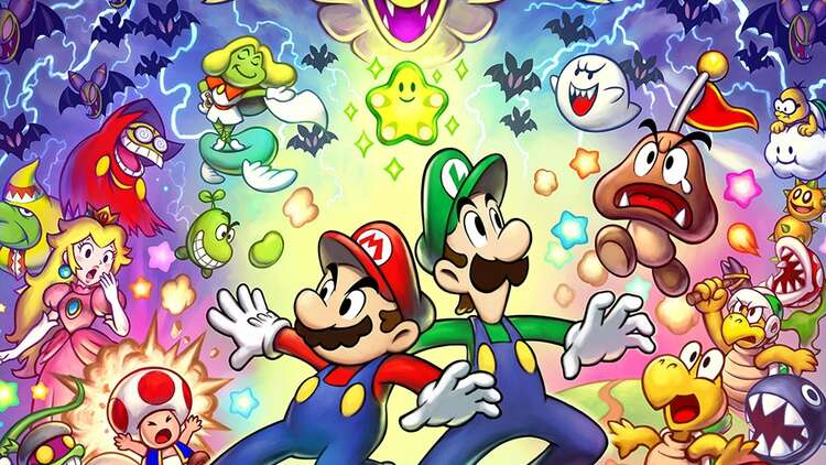 mario and luigi superstar saga cover art