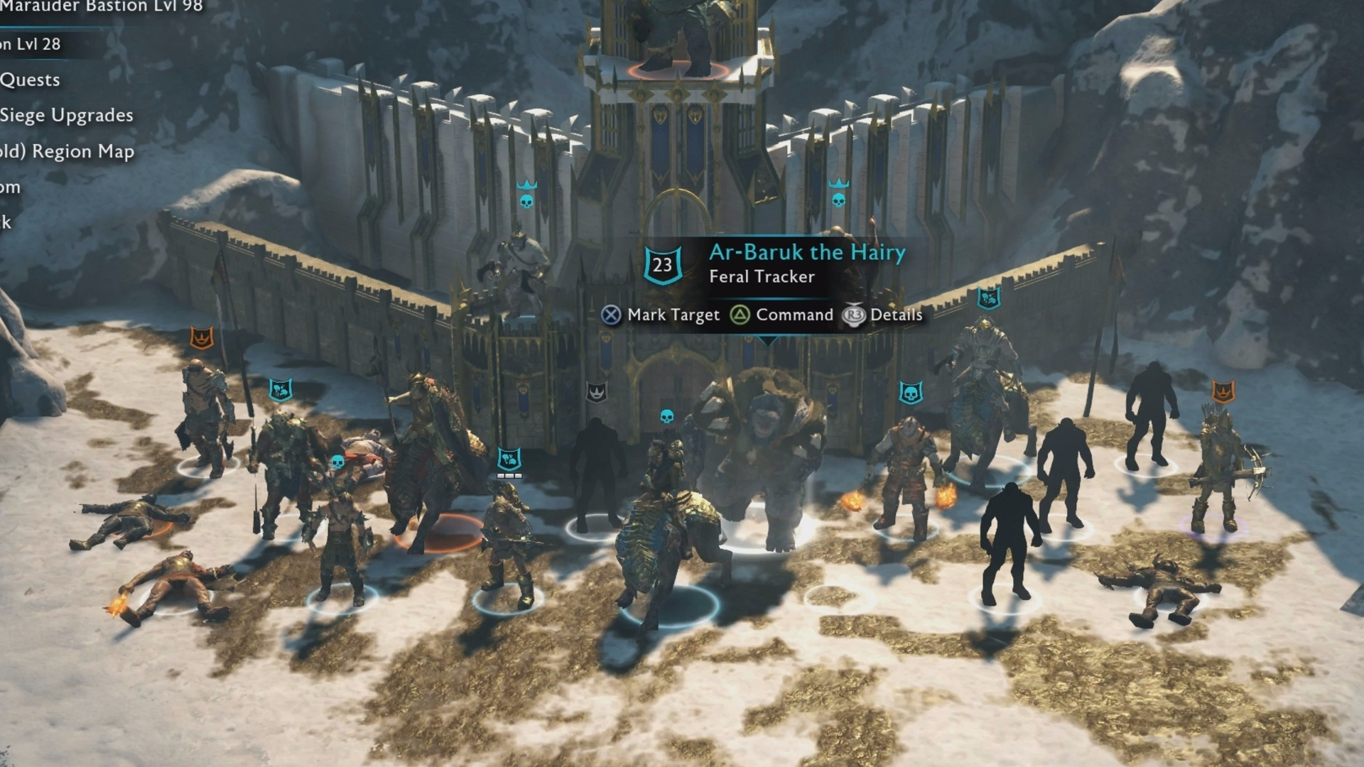 shadow of war army building explained how to dominate recruit