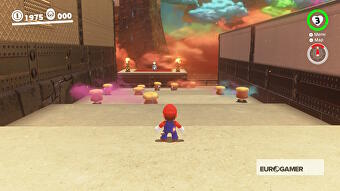 Super Mario Odyssey Infiltrate Bowser S Castle And Start Bombing