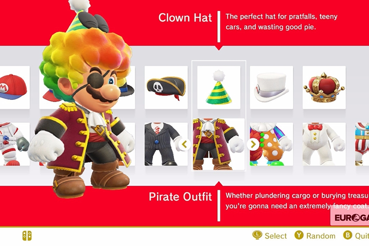 Super Mario Odyssey Outfits List Outfit Prices And How To Unlock