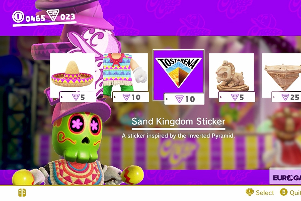 Super Mario Odyssey Stickers List Sticker Prices And How