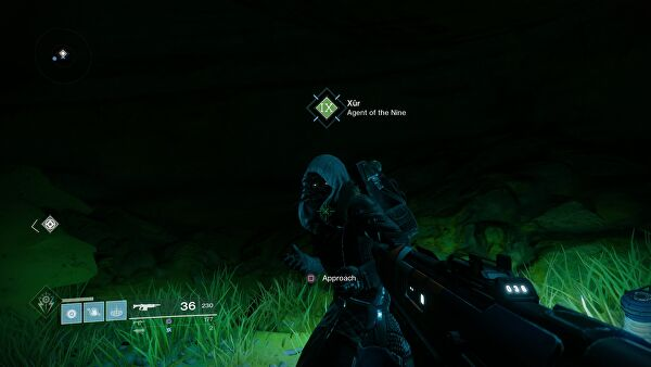 Destiny 2 Xur Items and Location for October 27