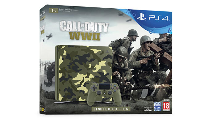 PS4_Call_of_Duty_WW2_Limited_Edition_console