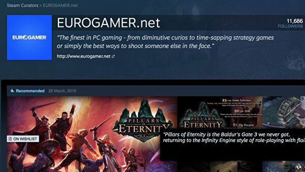 Valve's big Steam Curator overhaul aims to streamline key distribution