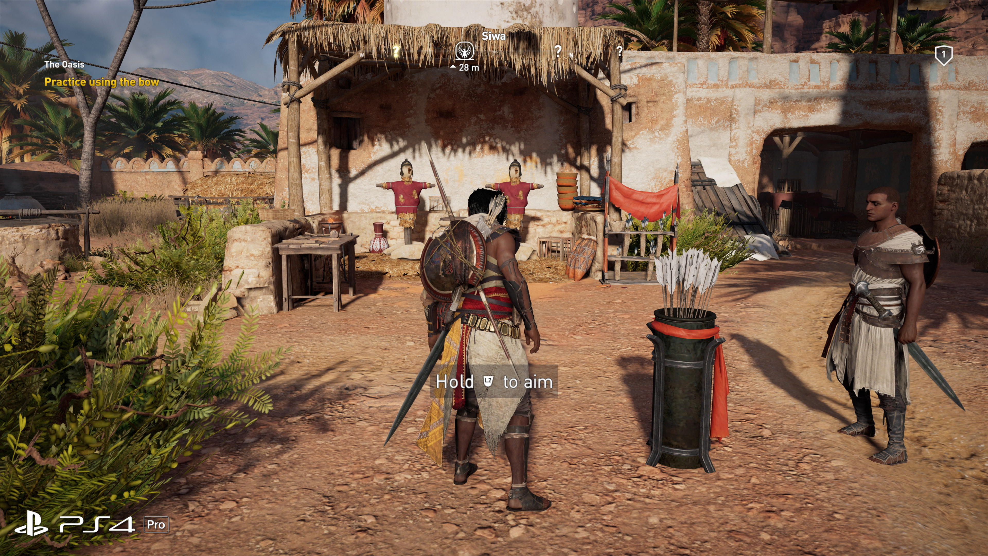 How Does Assassin S Creed Origins On Pro Improve Over Base Ps4