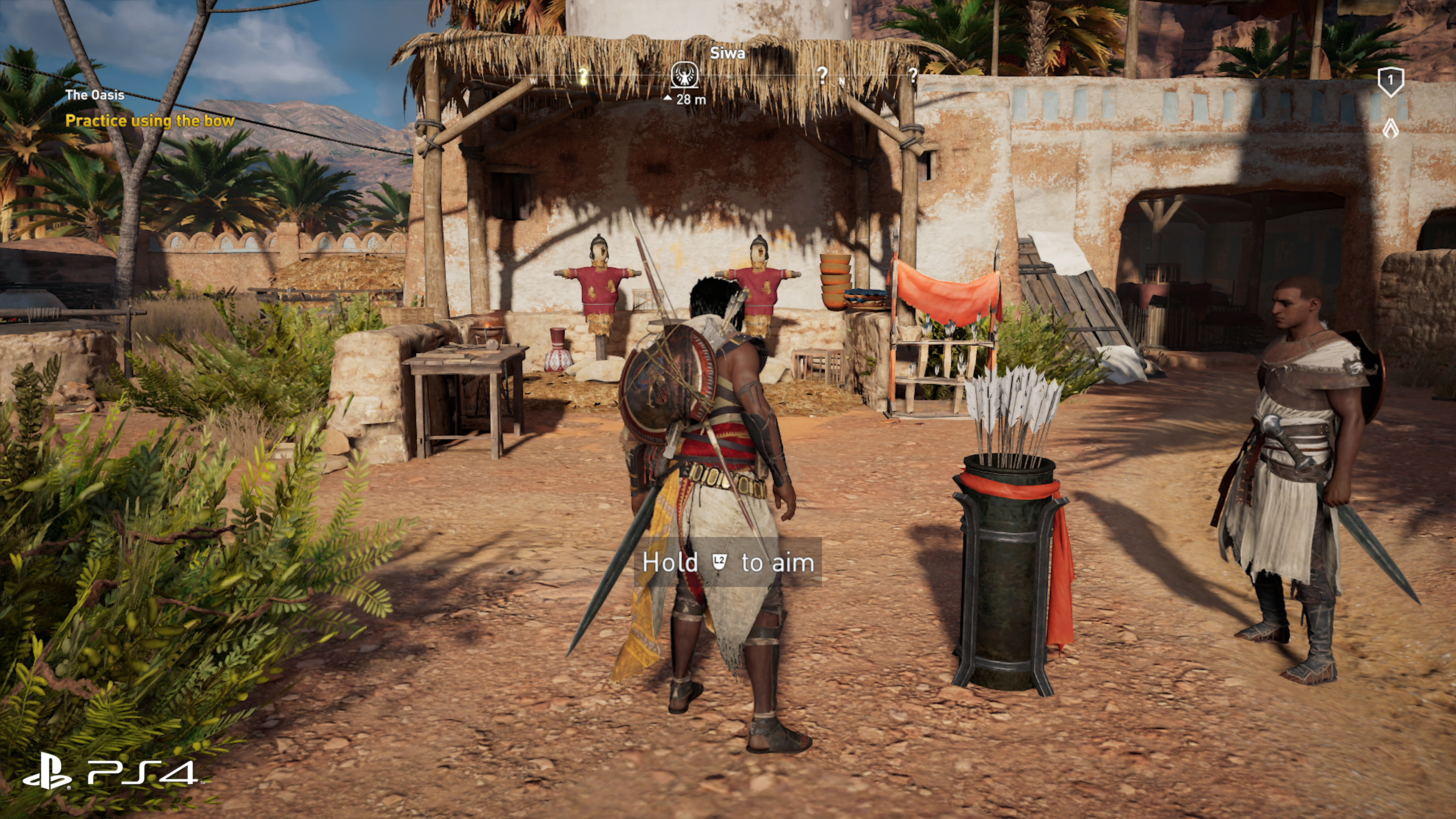 How Does Assassin S Creed Origins On Pro Improve Over Base Ps4 Eurogamer Net