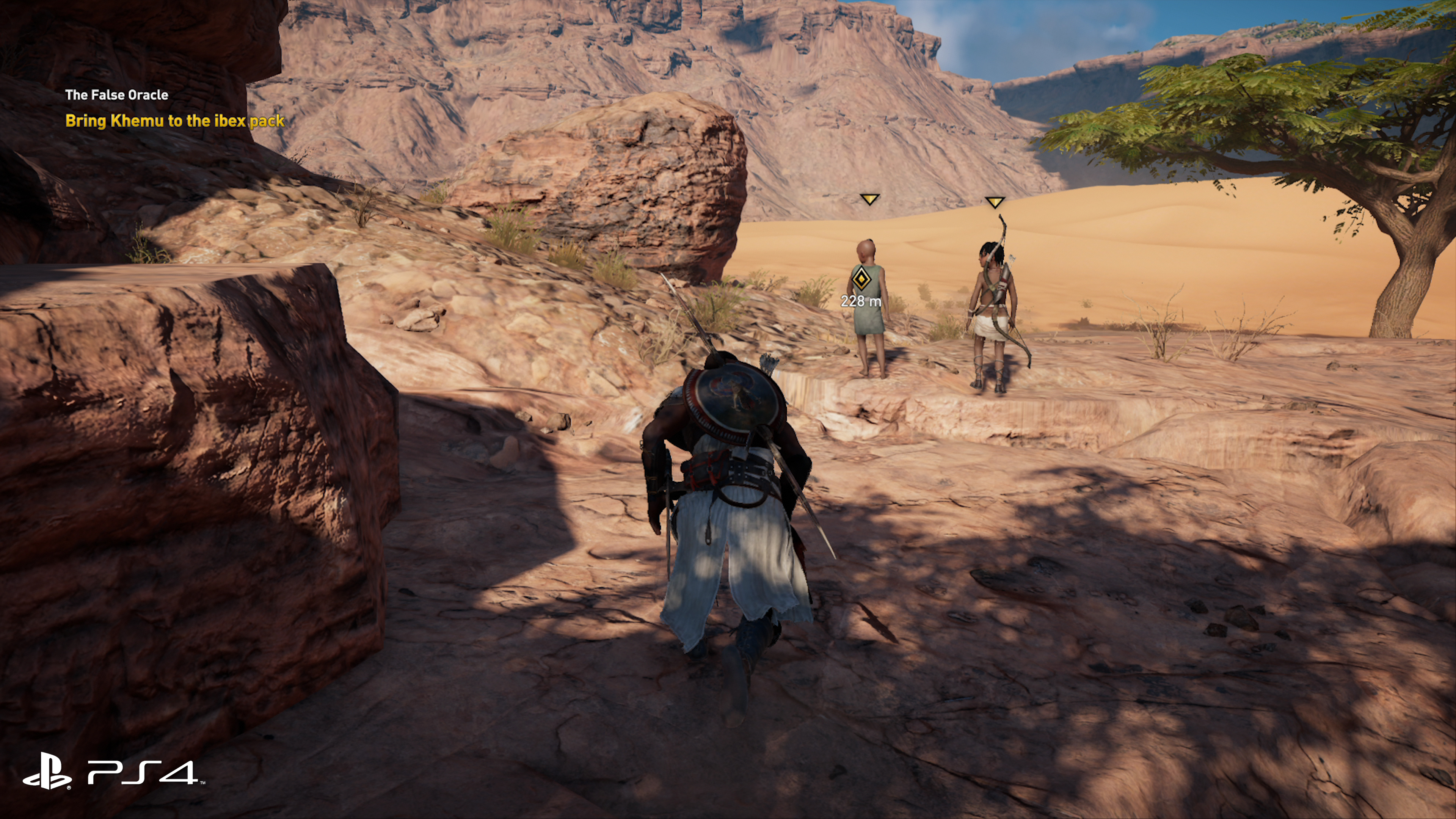How does Assassin's Creed Origins on Pro improve over base