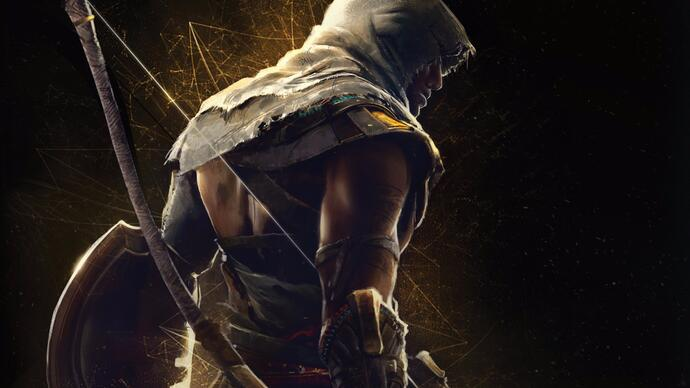 How does Assassin's Creed Origins on Pro improve over base PS4?
