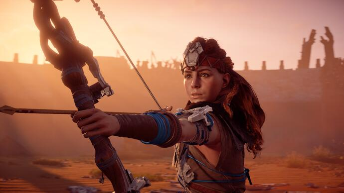 Nuevo trailer de Horizon Zero Dawn: The Frozen Wilds