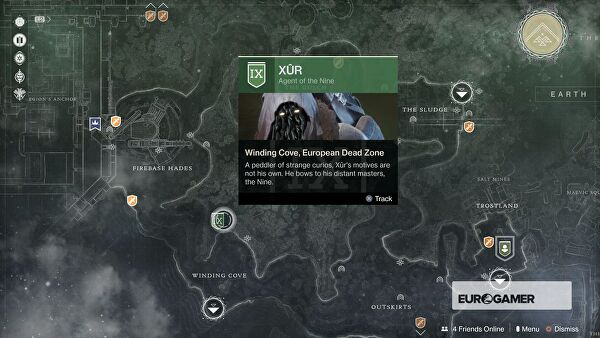 Destiny 2 Xur Items and Location for November 3