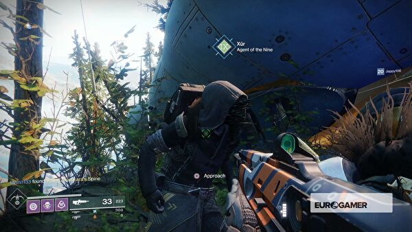 Destiny 2: Xur's location and gear for this weekend, November 3