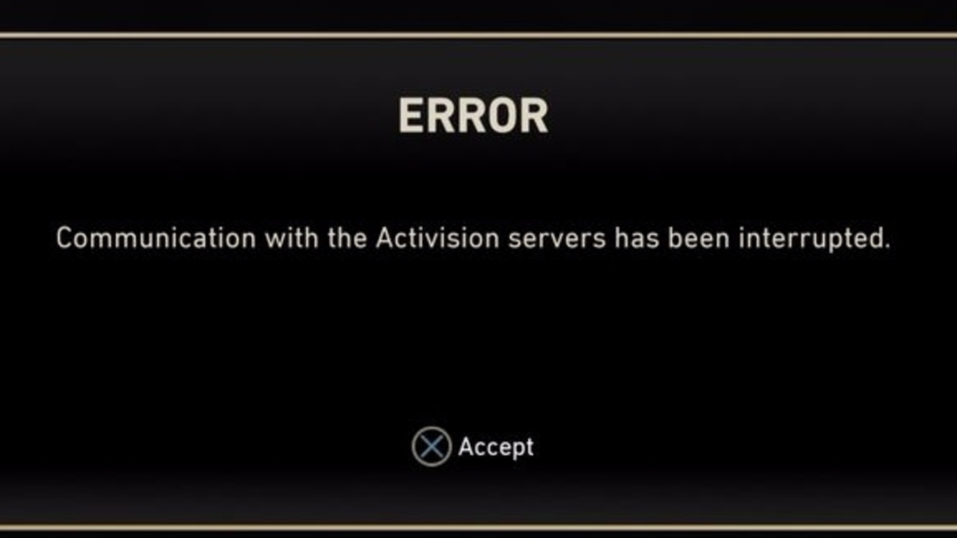 Mw2 connecting to matchmaking server stuck