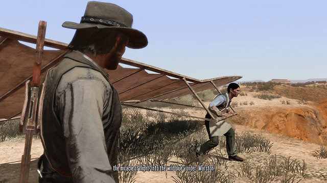 Flying Machine Technology Leaves a Lot to be Desired in Red Dead Redemption