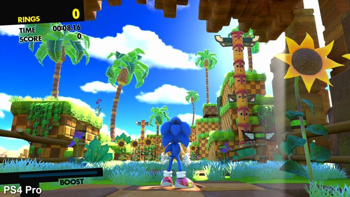 Sonic Forces focuses on PS4 with clear issues on other