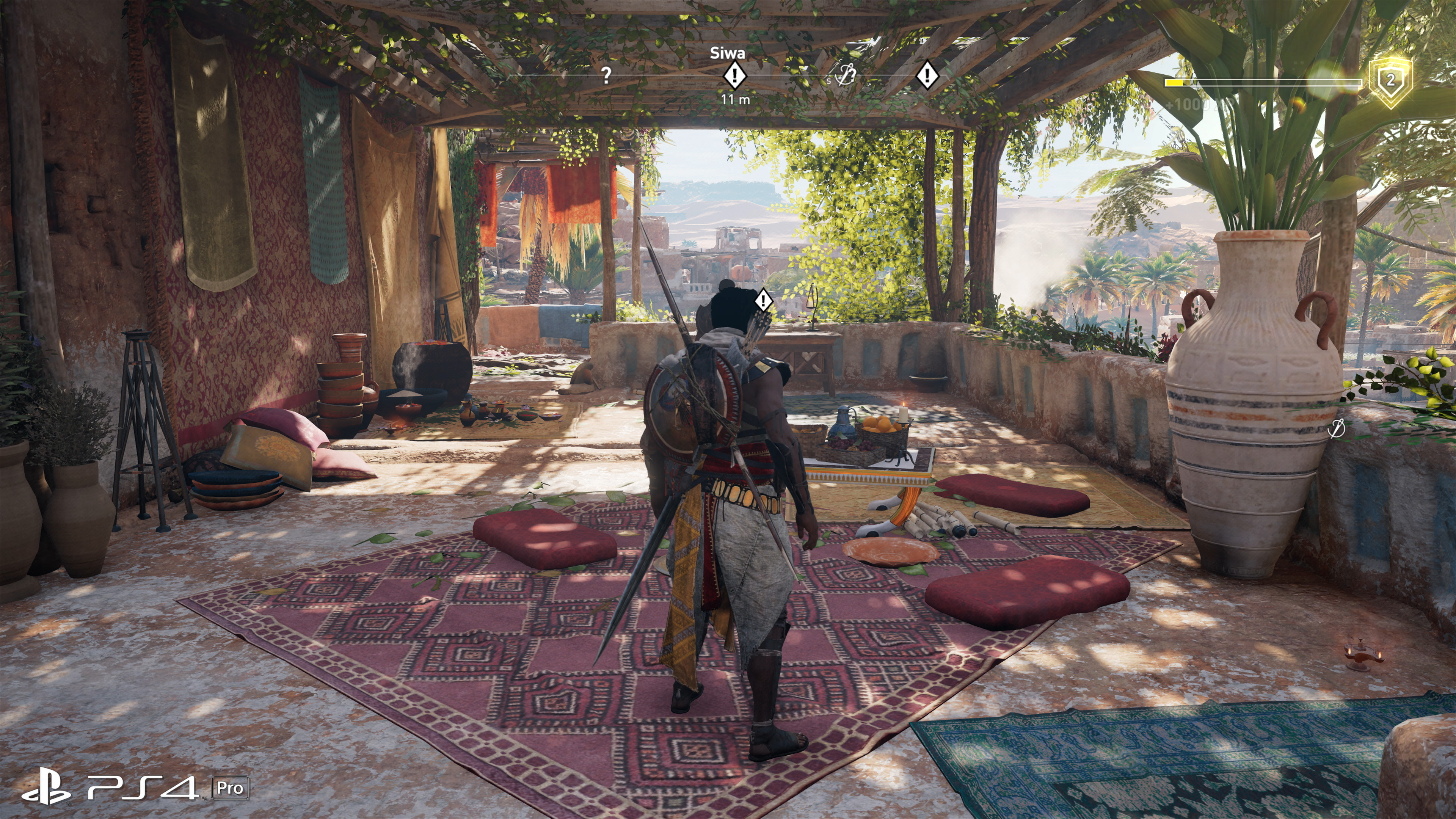 Assassin S Creed Origins Xbox One X Is Improved But To What Extent Eurogamer Net