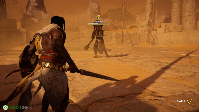 Assassin's Creed Origins: Xbox One X is improved, but to