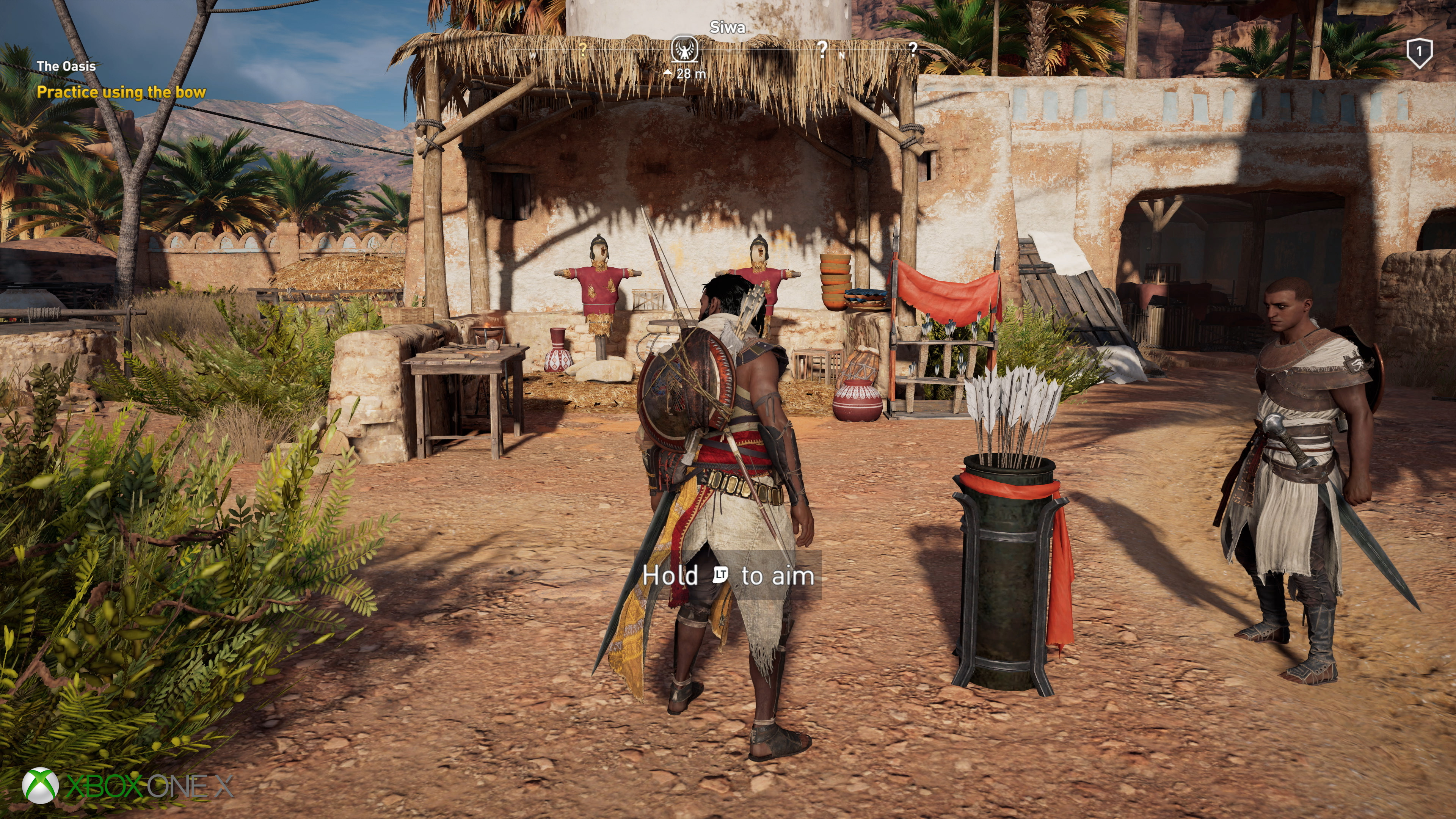 Assassin's Creed Origins: Xbox One X is improved, but to what extent