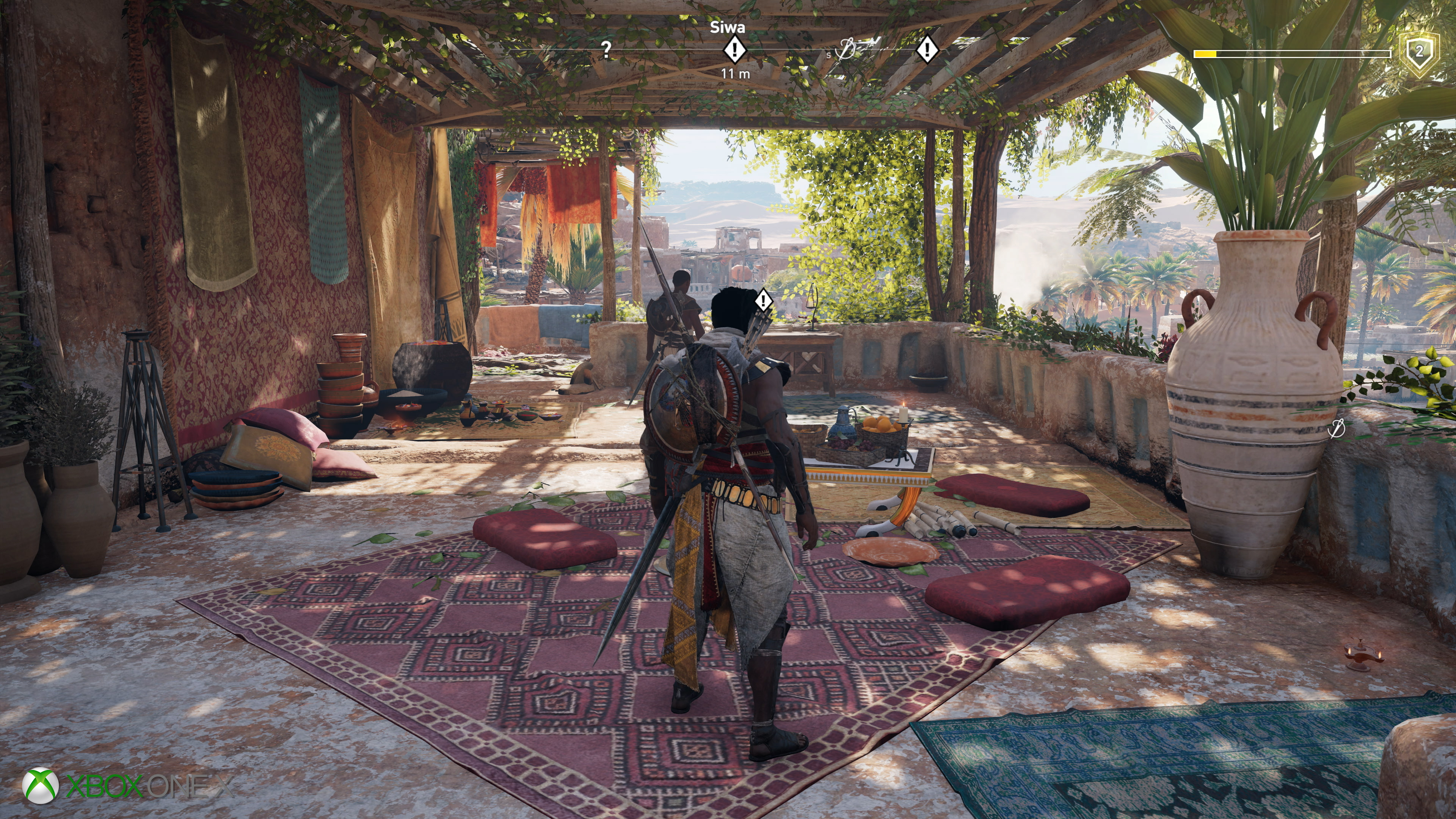 Assassin S Creed Origins Xbox One X Is Improved But To What