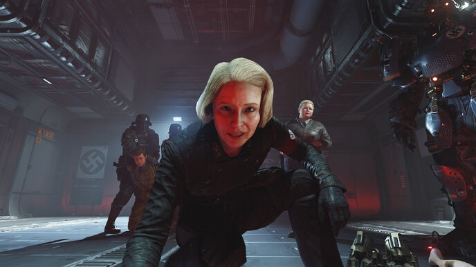 Wolfenstein 2: the biggest jump yet from PS4 Pro to Xbox One X