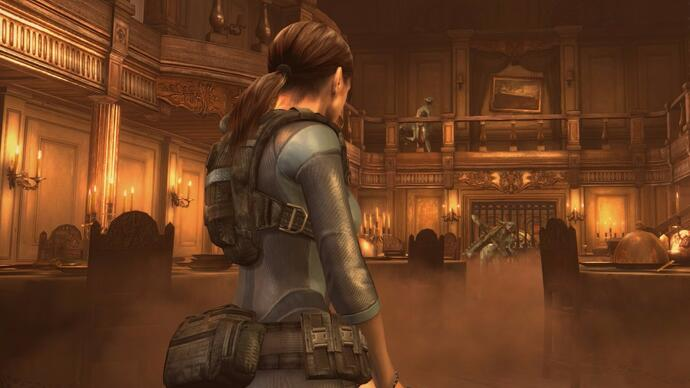 Capcom shows off Resident Evil Revelations' Switch-exclusive features