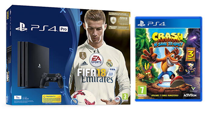 PS4_Pro_FIFA_18_with_Crash_Trilogy