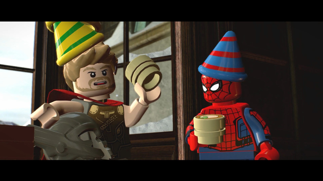 Guardians and Avengers Share Screen Time in Lego Marvel Super Heroes 2