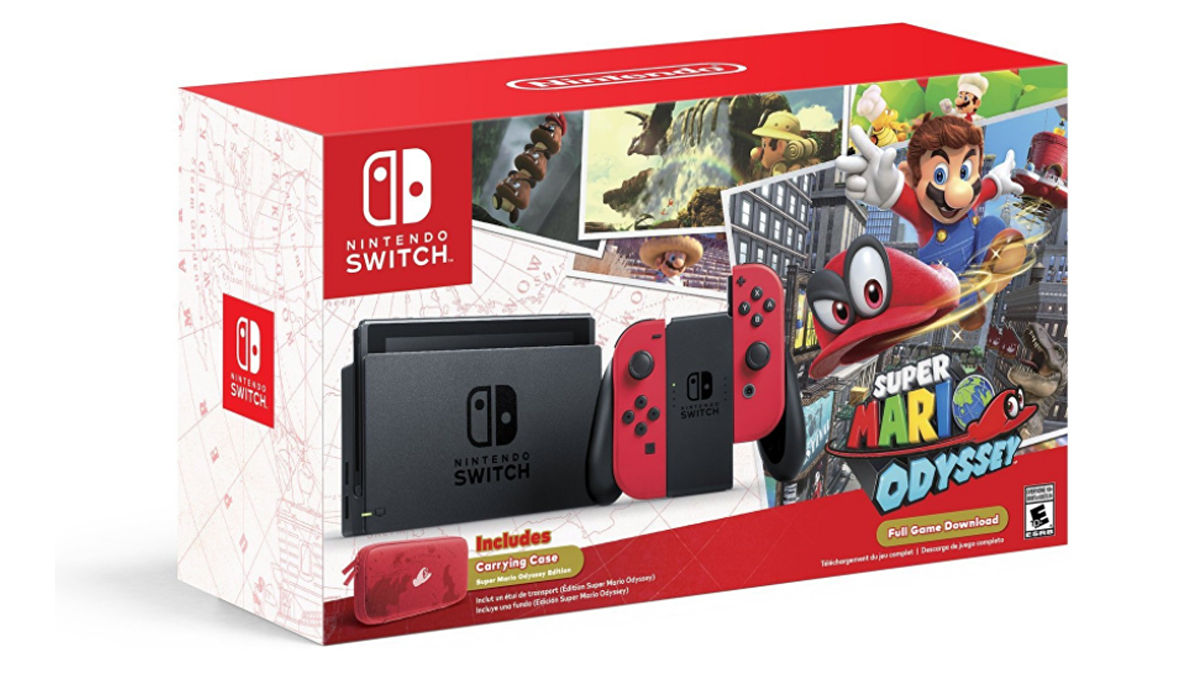 Black Friday 2017 This Is The Best Nintendo Switch Bundle So Far This Year Eurogamer Net