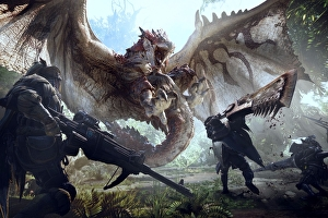 Capcom incoraggia i fan di Monster Hunter World a giocare online