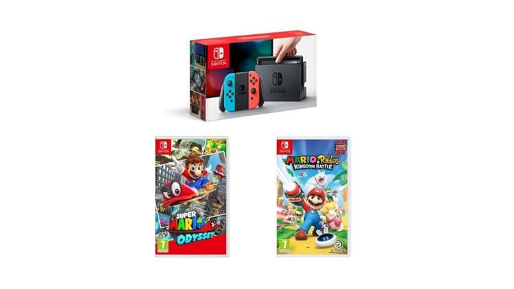 Amazon Has The Best Nintendo Switch Deal On Cyber Monday Eurogamer Net