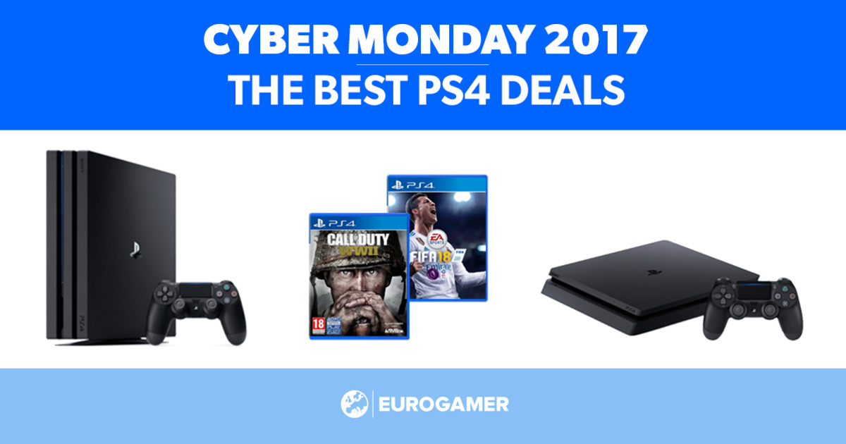 Cyber monday deals on ps4