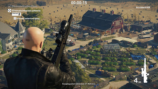 We Take on a Sniper Challenge in Hitman Mission The Vector