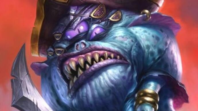 Hearthstone's Kobolds and Catacombs expansion originally themed around WOW's Blingtron