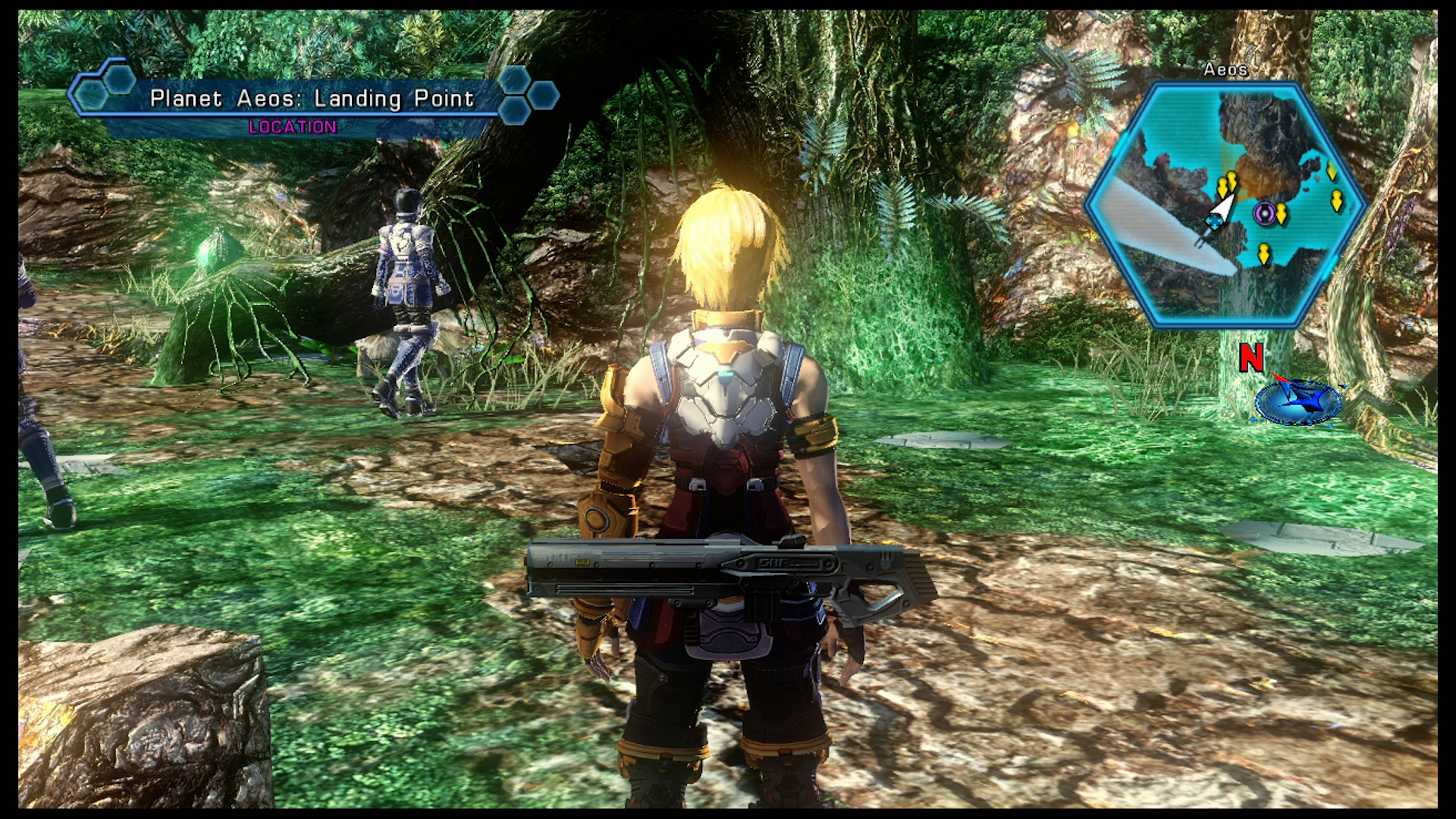 Star Ocean 4 is a console game with a PC settings menu