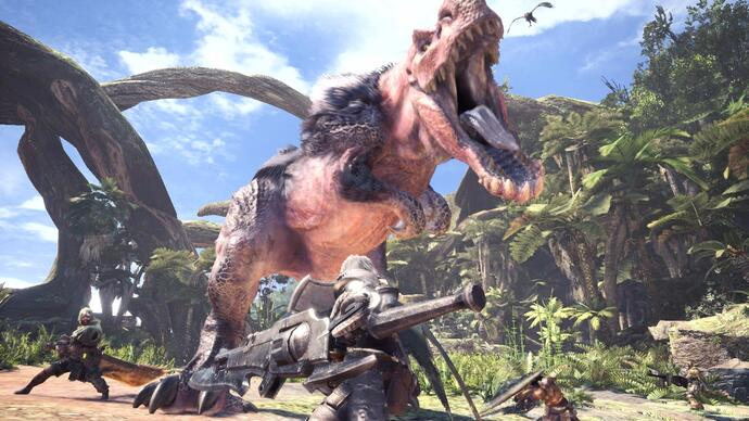 Capcom offers full, final details of its imminent PS4-exclusive Monster Hunter World beta