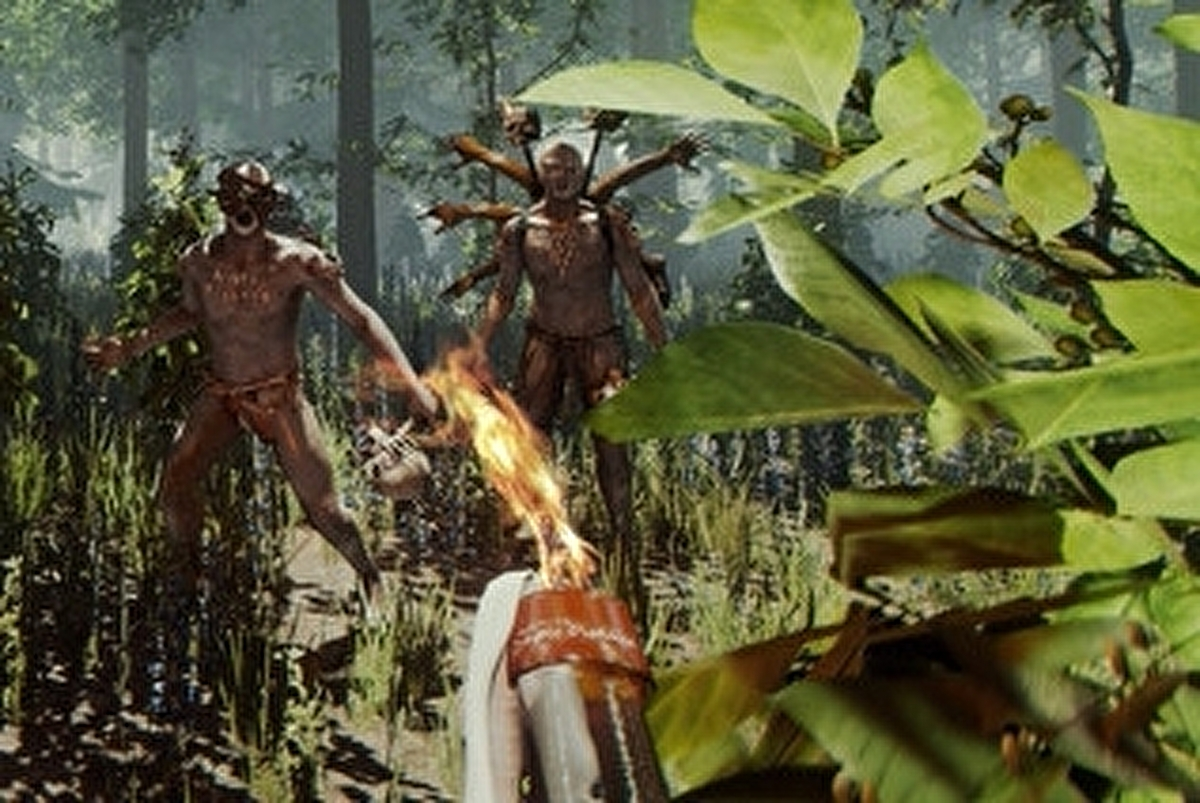 Steam Early Access Survival Game The Forest Branches Out To Ps4 Eurogamer Net