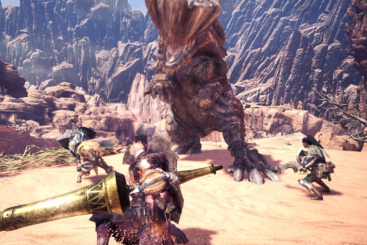 Monster Hunter World Multiplayer How To Join Friends Join Squads And Create Multiplayer Games Eurogamer Net Go for apex predator tier monsters like brachydios, glavenus, rathalos, tigrex, ecetera. monster hunter world multiplayer how
