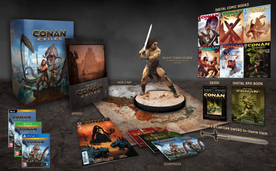Conan Exiles ganha data para PC, PS4 e Xbox One