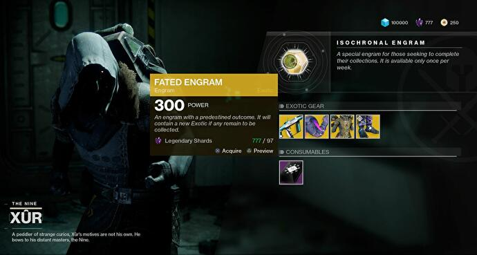 Where is Xur? Location, what Xur is selling in Destiny 2