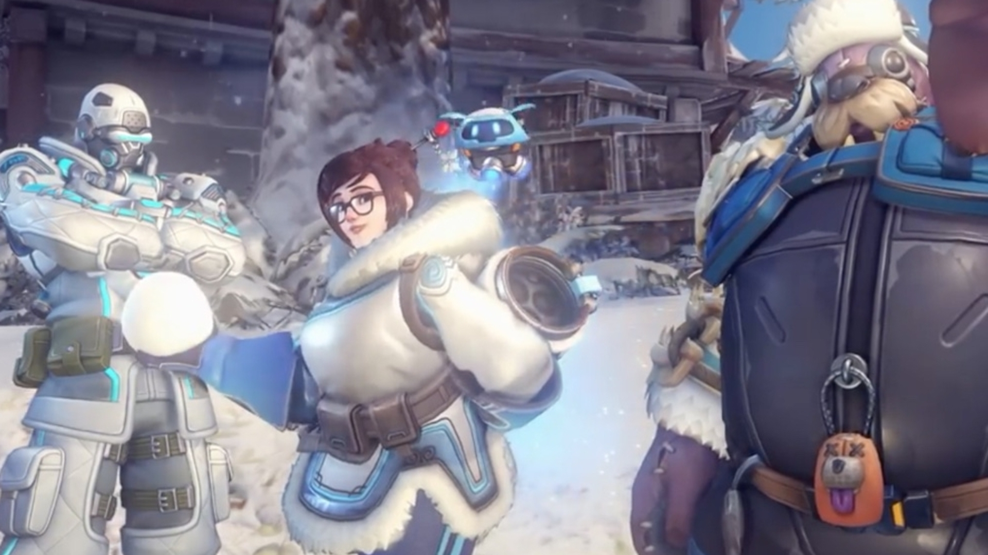 Here\'s a look at Overwatch\'s new Winter Wonderland event skins ...