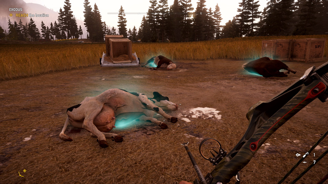 Far Cry 5 Gameplay Reveals Crop Circle, Glowing Cows